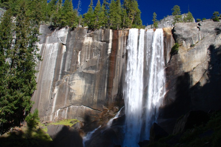 Vernal Falls, Yosemite National Park, California, United States