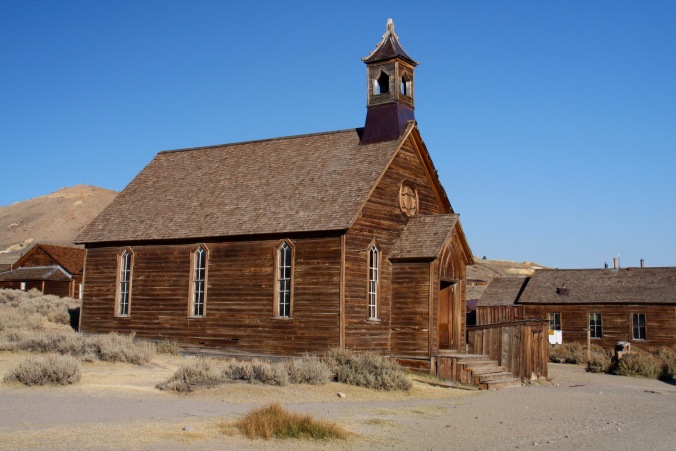 Methodist chapel, Bodie, California, United States