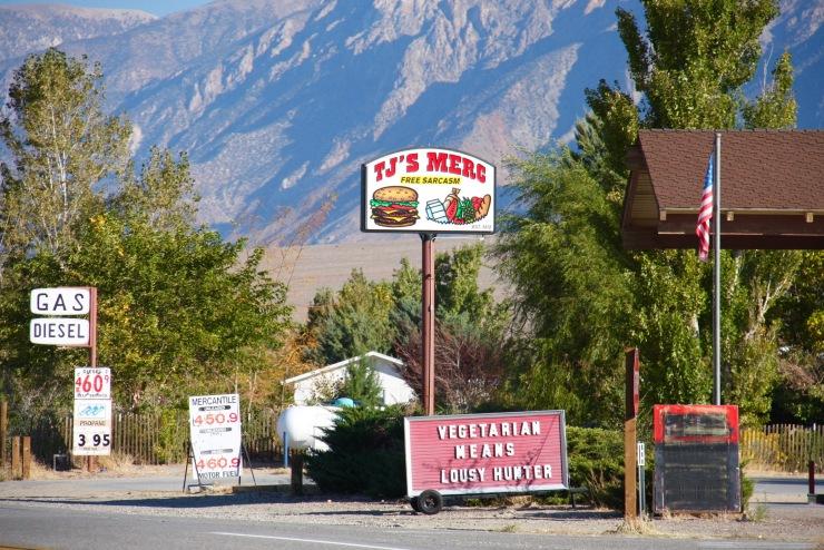 Restaurant near Bishop, California, United States