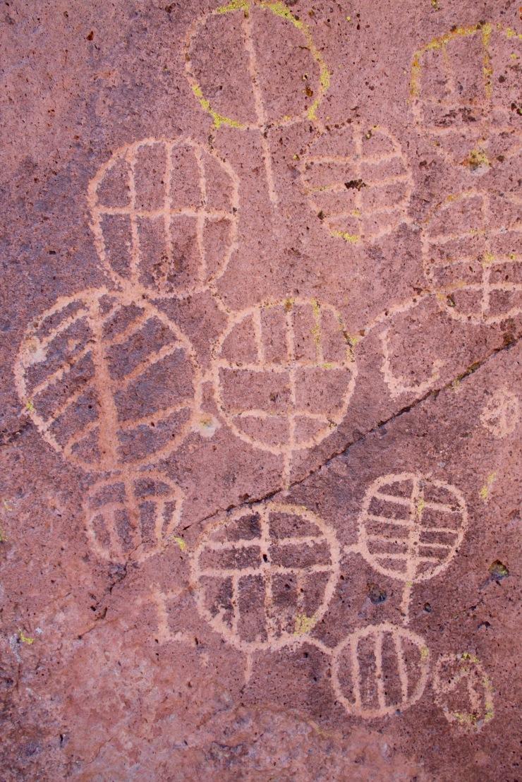 Native American Petroglyphs, Bishop, California, United States