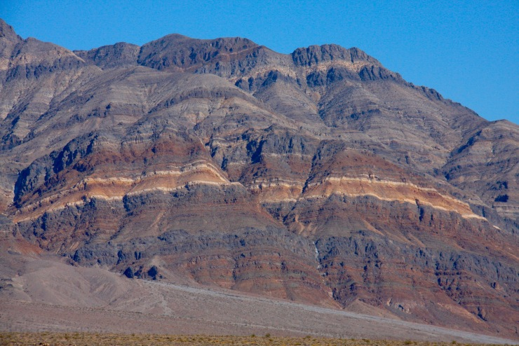 Mountains near Eureka Dunes, California, United States