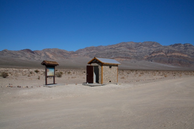 Toilet, Eureka Dunes, California, United States