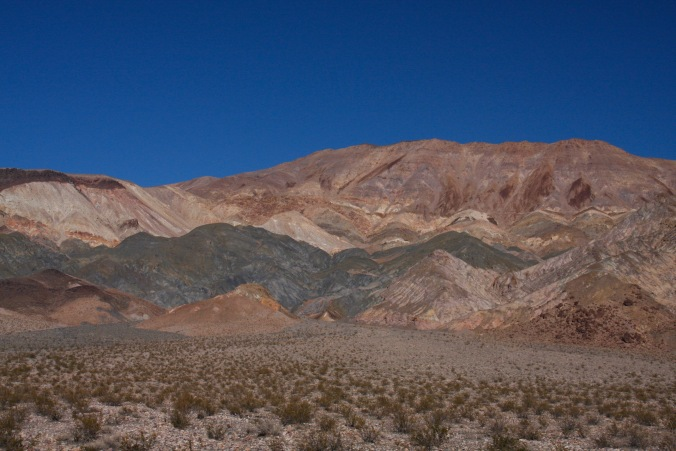 Mountains near Eureka Dunes, California, United States
