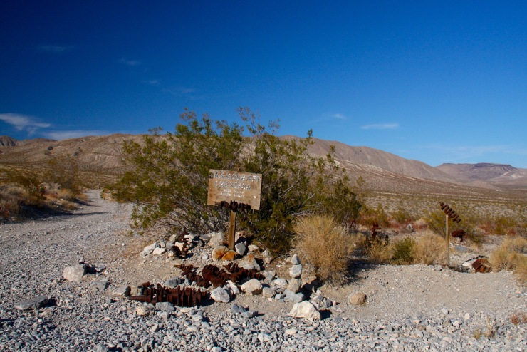 Crankshaft Junction, Death Valley Road, California, United States