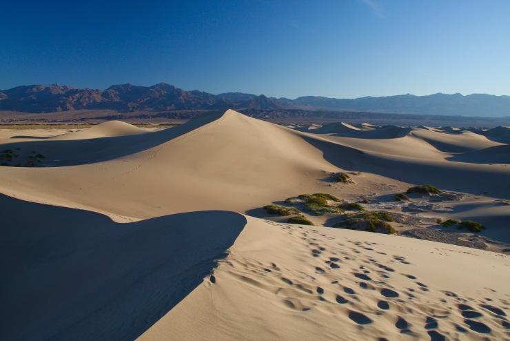 Mesquite Flat Sand Dunes, Death Valley, California, United States