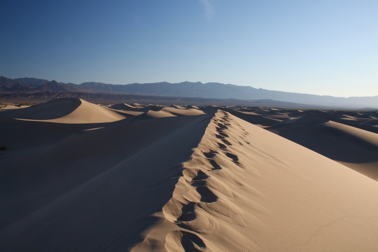 Mesquite Flat Sand Dunes, Death Valley, California, United States
