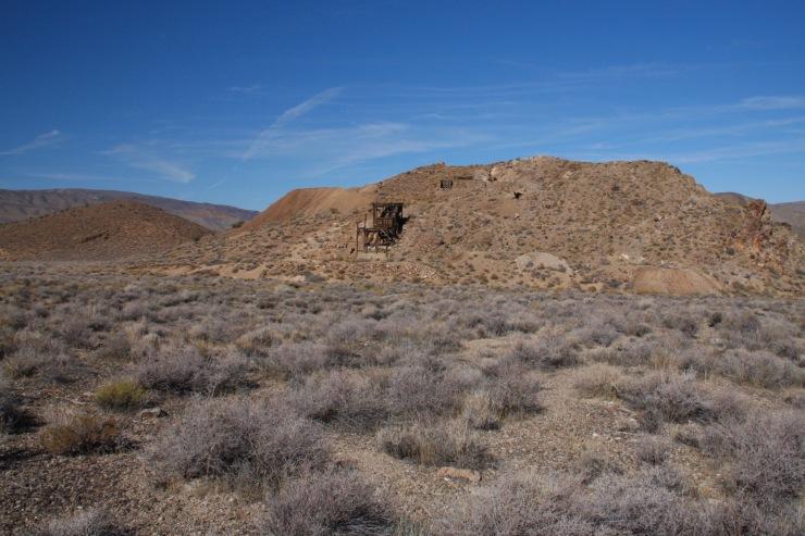 Eureka Mine, Death Valley, California, United States
