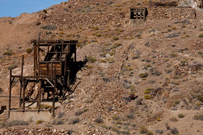 Eureka Mine, Death Valley, California, United States
