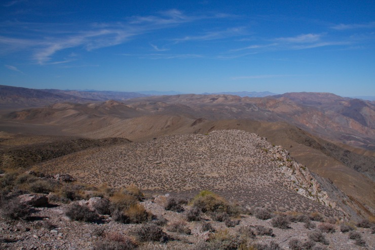 Views from Aguereberry Point, Death Valley, California, United States