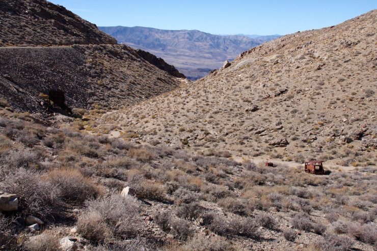 Skidoo mine, Death Valley, California, United States