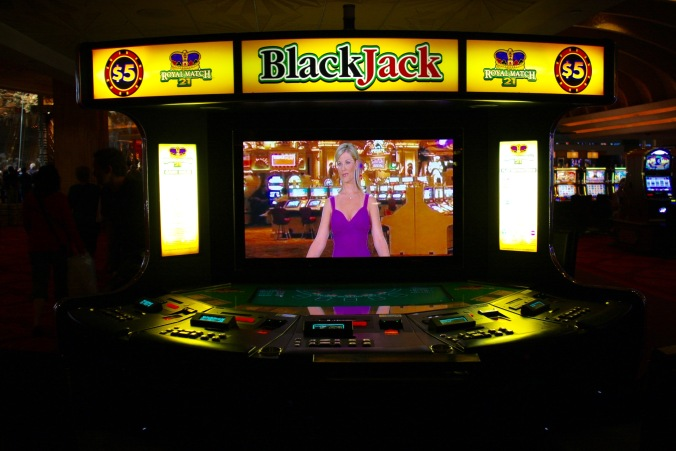 Slot machines, Las Vegas, Nevada, United States