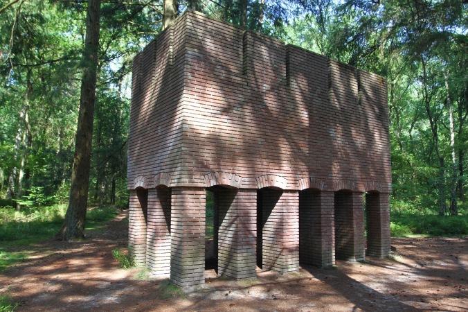 Brick Sculpture, Kröller-Müller Museum, Sculpture Garden, Netherlands