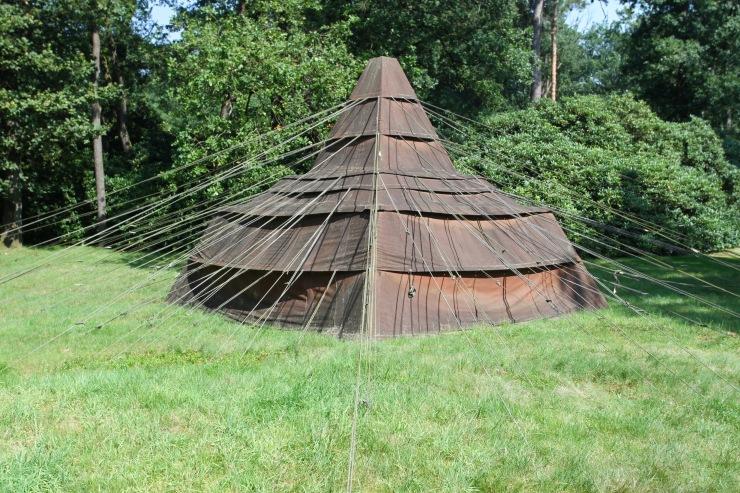 Tent Project, Kröller-Müller Museum, Sculpture Garden, Netherlands