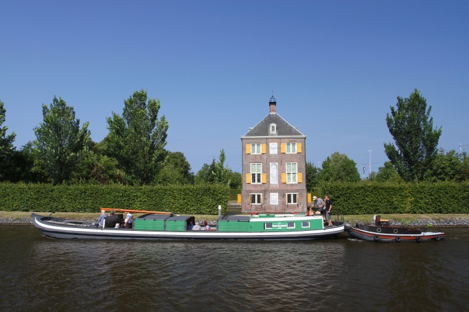 The Hofwijck on the Vliet Canal, The Netherlands
