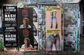 Street Art, Canal St. Martin, Paris, France