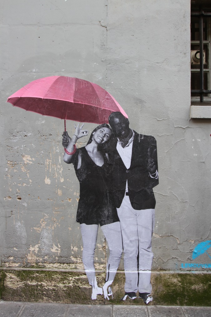 Street Art, Canal St. Martin, Paris, France