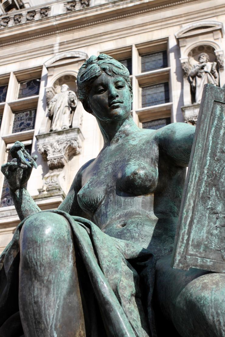 Sculpture, Paris, France