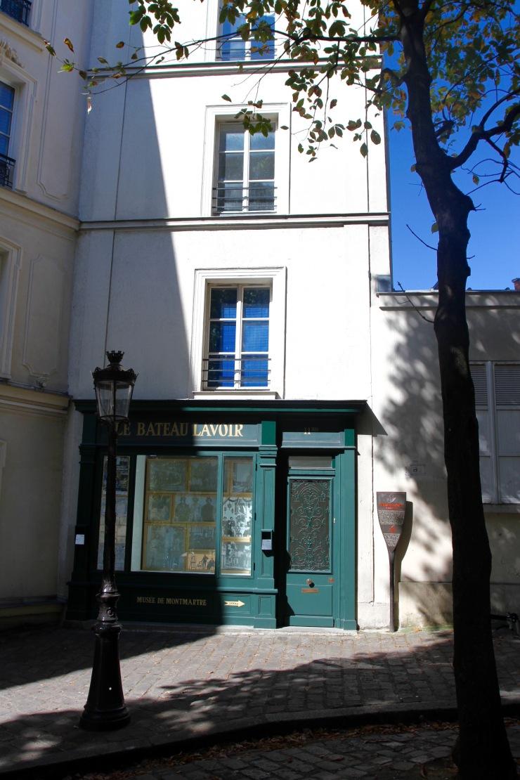 Bateau Lavoire, Montmatre, Paris, France