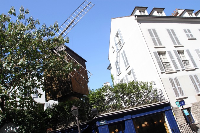 Moulin de la Galette, Montmatre, Paris, France