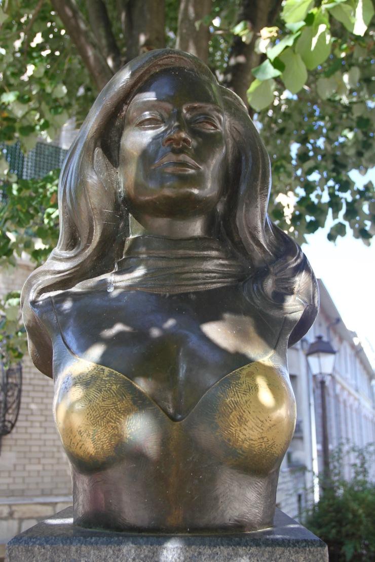 Dalida statue, Montmatre, Paris, France