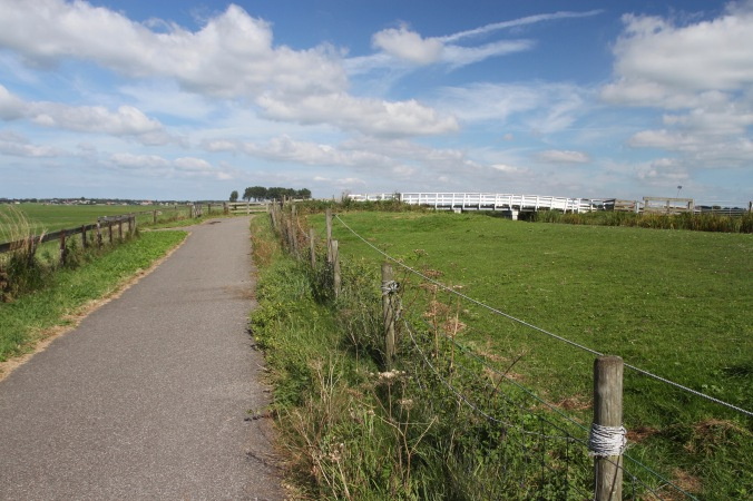 Cycling near The Hague, Netherlands