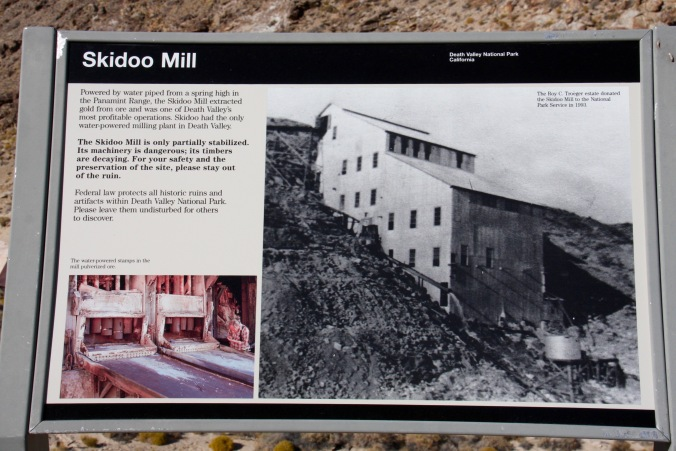 Skidoo mine, Death Valley, California, United States