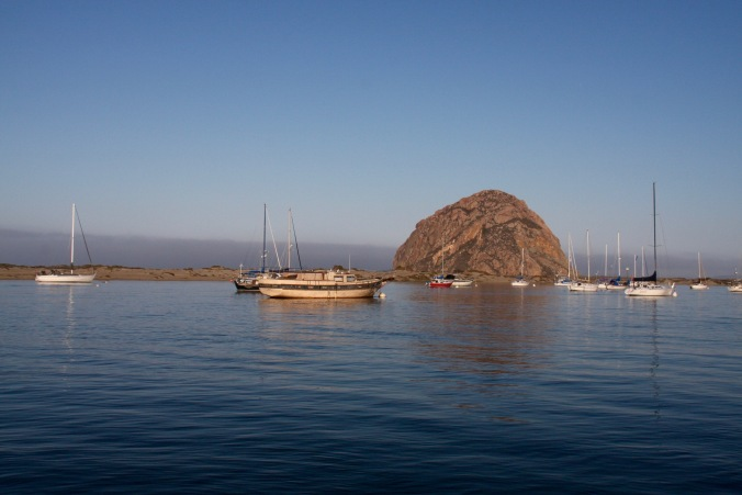 Morro Rock, Morro Bay, California, United States