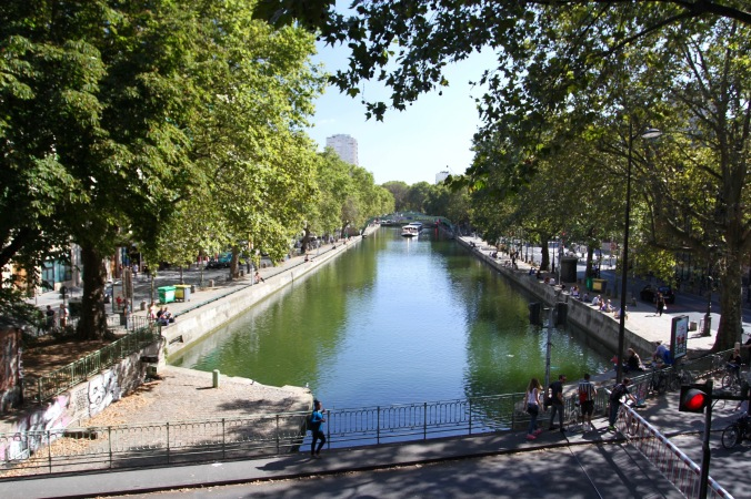Canal St. Martin, Paris, France