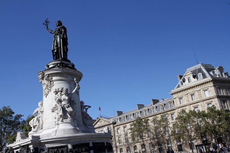 Place de la République, Paris, France
