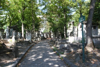 Père Lachaise Cemetery, Paris, France