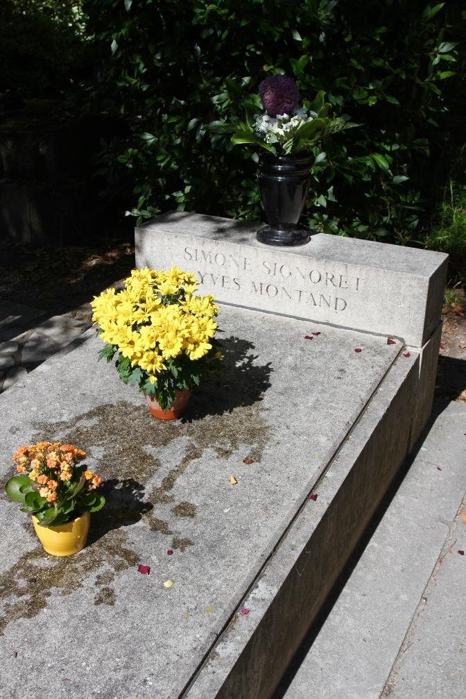 Yves Montand and Simone Signoret, Père Lachaise Cemetery, Paris, France