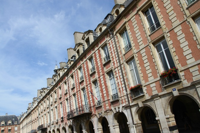 Place des Vosges, Le Marais, Paris, France