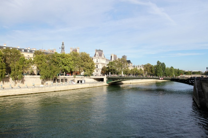 The Seine, Paris, France