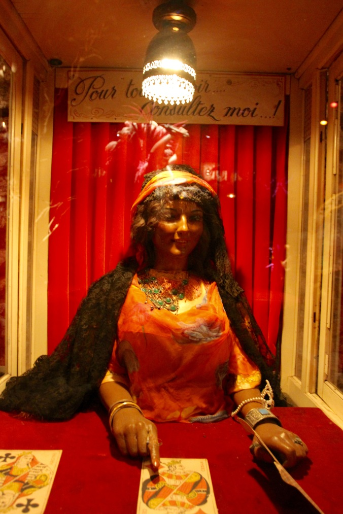 Fortune teller, Musée des Arts Forains, Paris , France