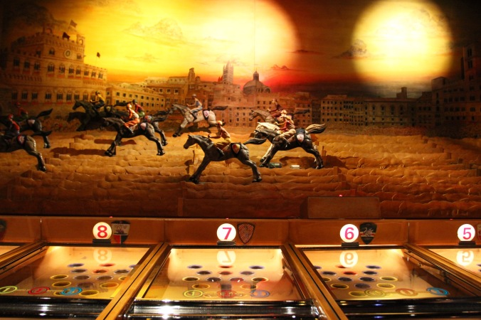 Horse race game, Musée des Arts Forains, Paris , France