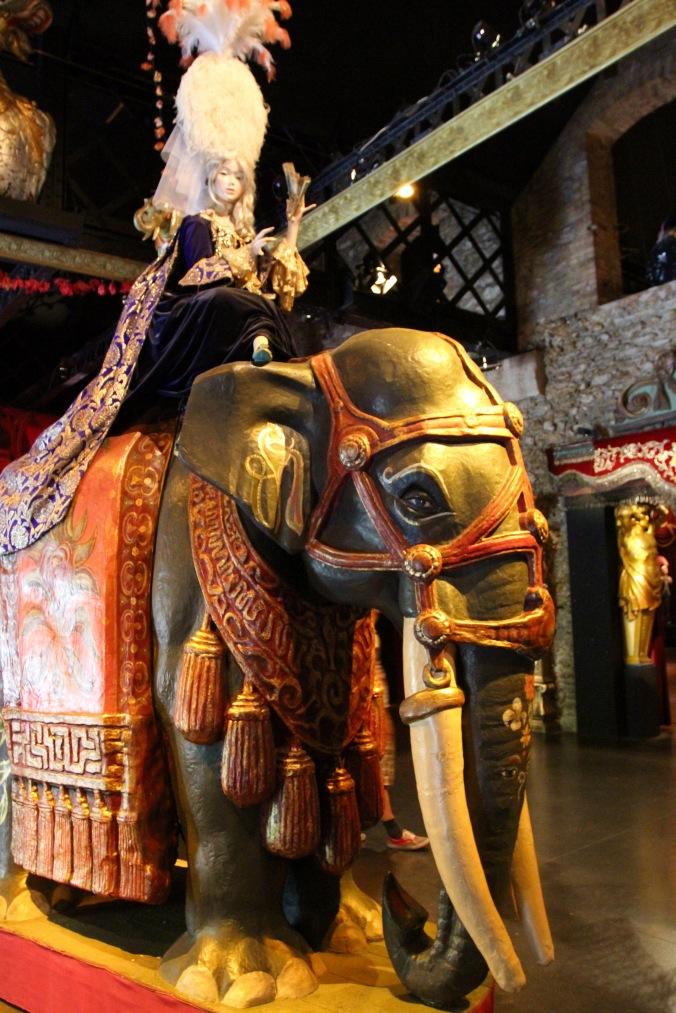 Elephant, Musée des Arts Forains, Paris , France