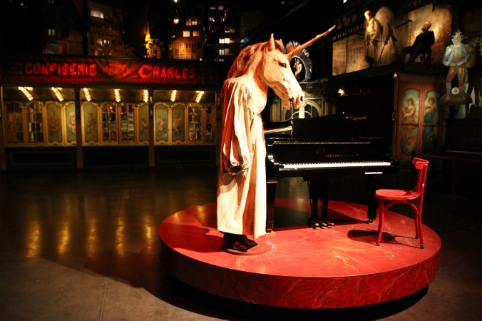 Unicorn-man hybrid, Musée des Arts Forains, Paris , France
