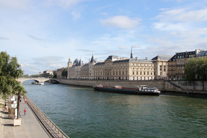 The Seine at the Ile de la Cite, Paris, France