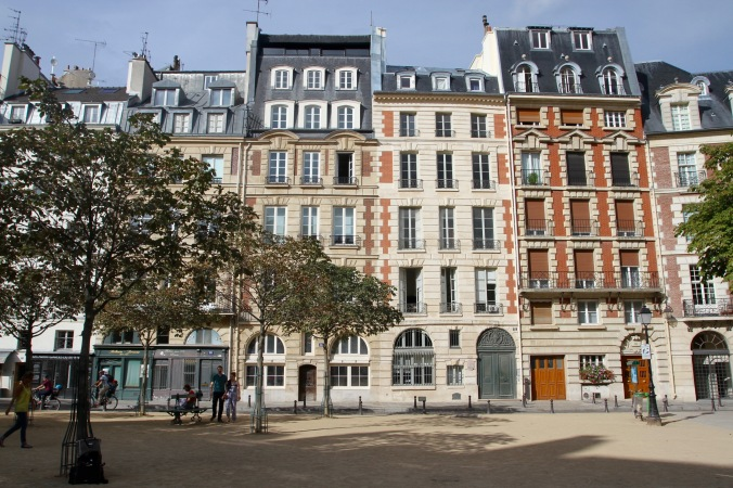 Place Dauphine, Ile de la Cite, Paris, France