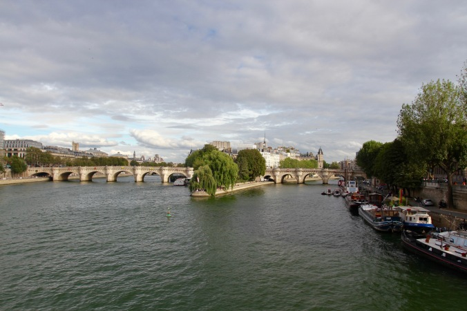 Ile de la Cite and Pont Neuf, Paris, France