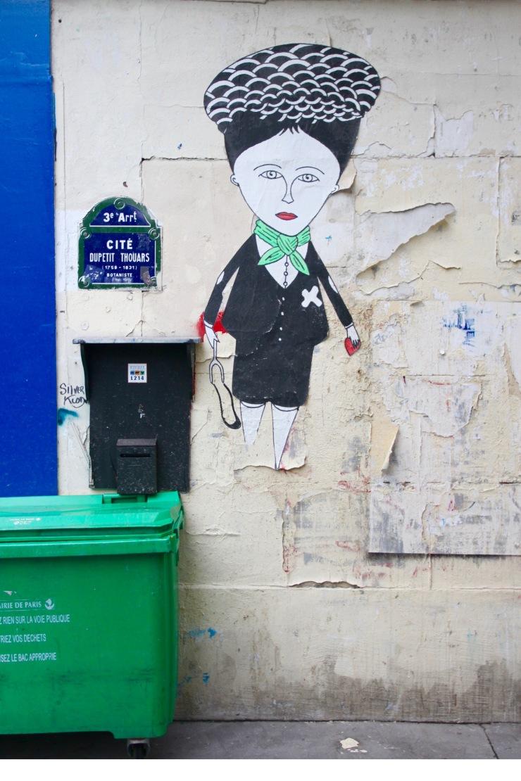 Fred de Chevalier, Street Art, Paris, France
