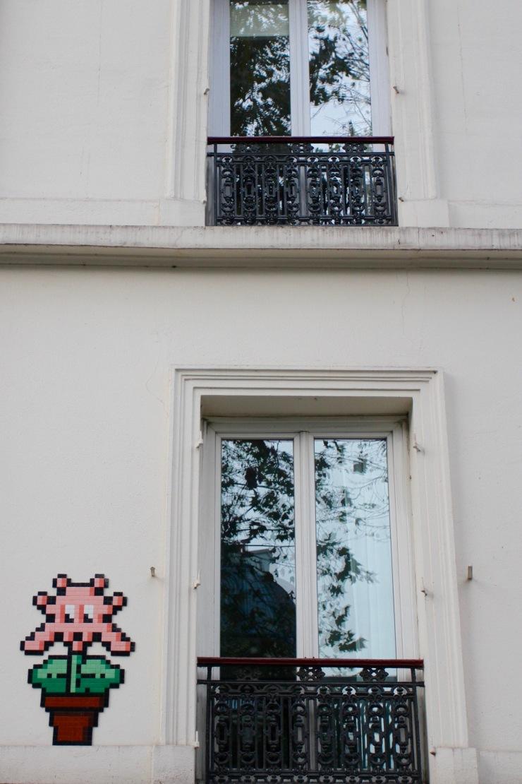 Invader, Street Art, Paris, France