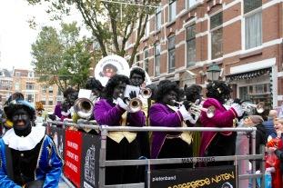 Sinterklaas and Zwarte Pete parade, The Hague, Netherlands