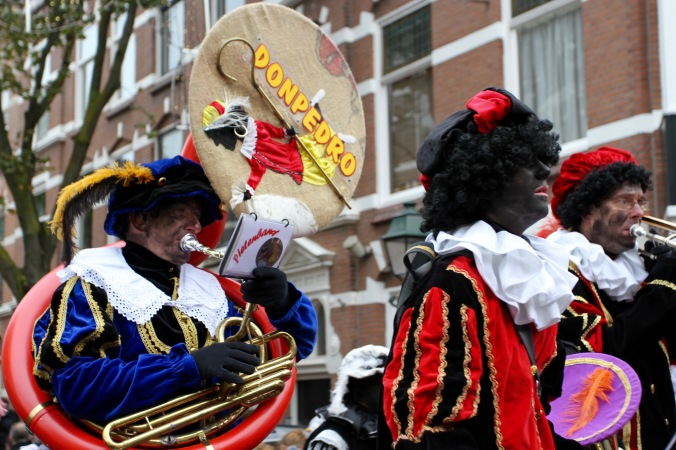 Sinterklaas and Zwarte Pete parade, The Hague, Netherlands