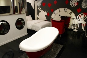 Alice in Wonderland suite, Hotel the Designers, Seoul, Korea