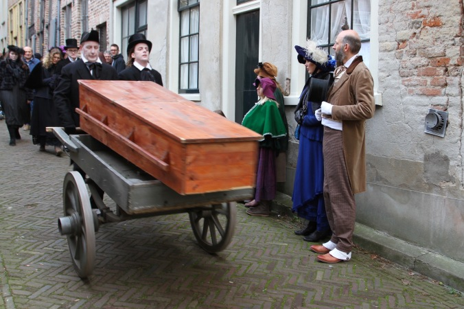 Death of Little Nell, Dickens Festival, Deventer, Netherlands