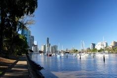 The Brisbane River, Brisbane, Australia