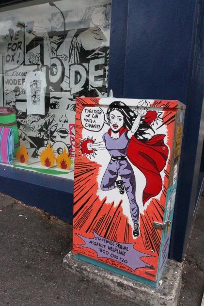 Street art, Brisbane, Australia