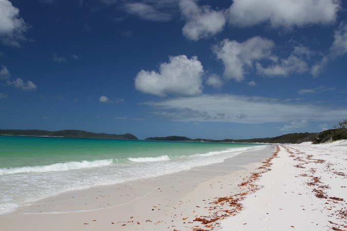 Whitehaven Beach, Whitsunday Island, Queensland, Australia