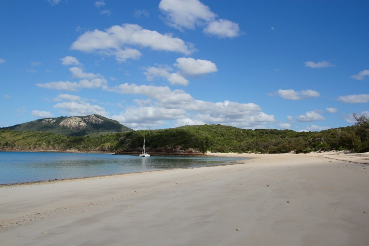Chance Bay, Whitsunday Island, Queensland, Australia